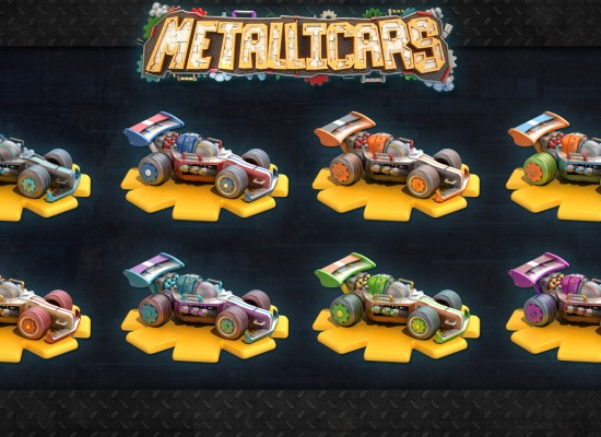 Metallicars Color Studio