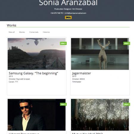 Sonia Aranzabal site