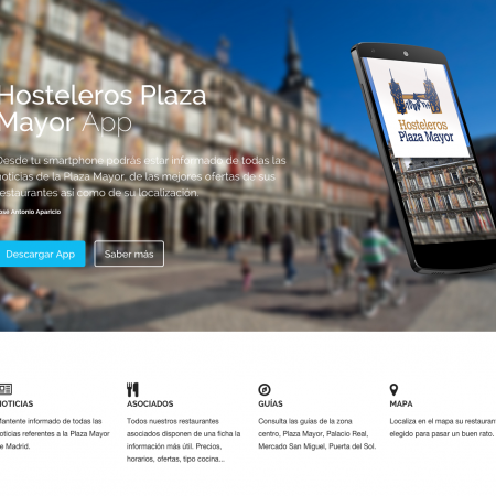 App Hosteleros Plaza Mayor