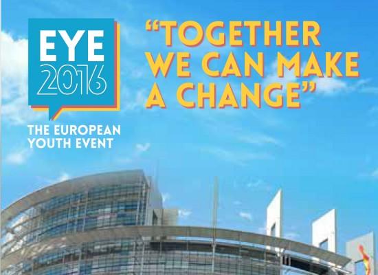 European Youth Event, EYE2016. Parlamento Europeo